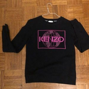 Black and pink Kenzo sweater